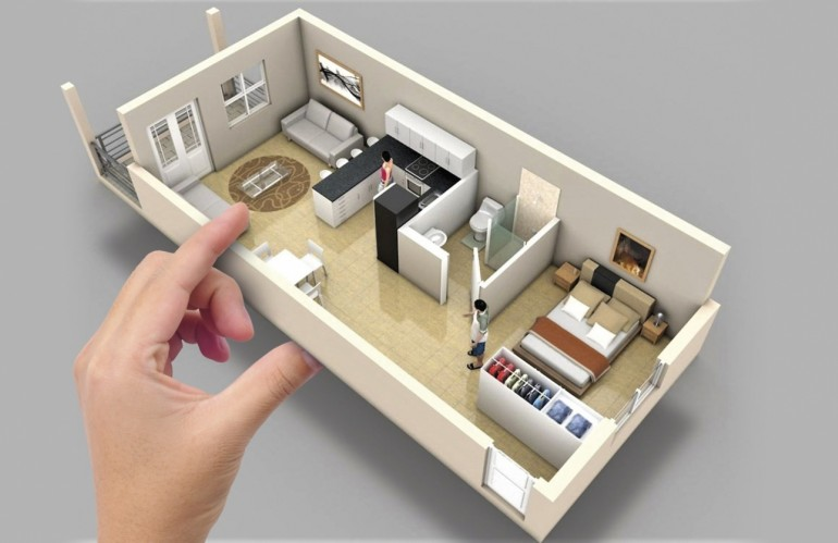 Microapartamentos – Aumenta o interesse por apartamentos menores
