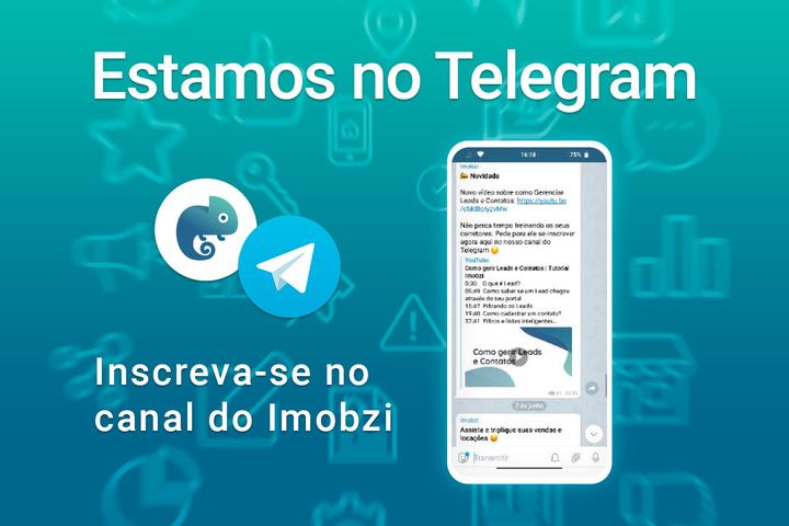 Inscreva-se no nosso canal do Telegram